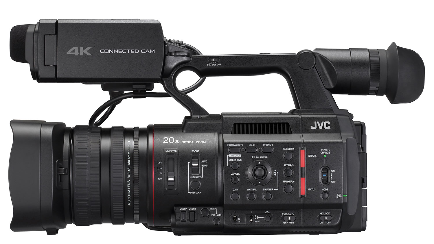 JVC Ships Connected Cam 500 Streaming Camcorders - Studio Daily